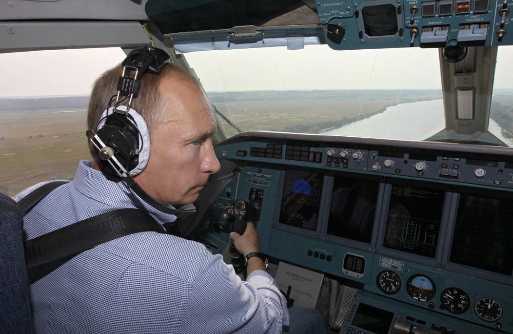 普京 飞行员