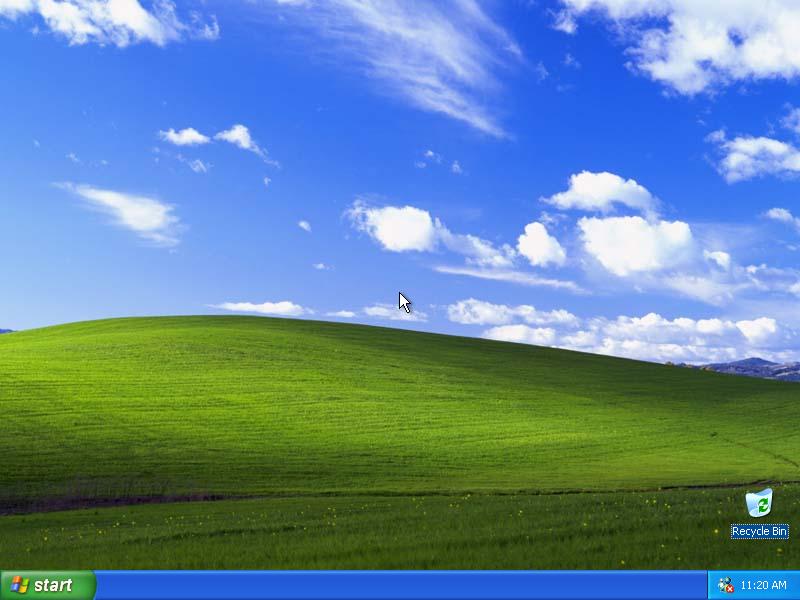 XP默认桌面