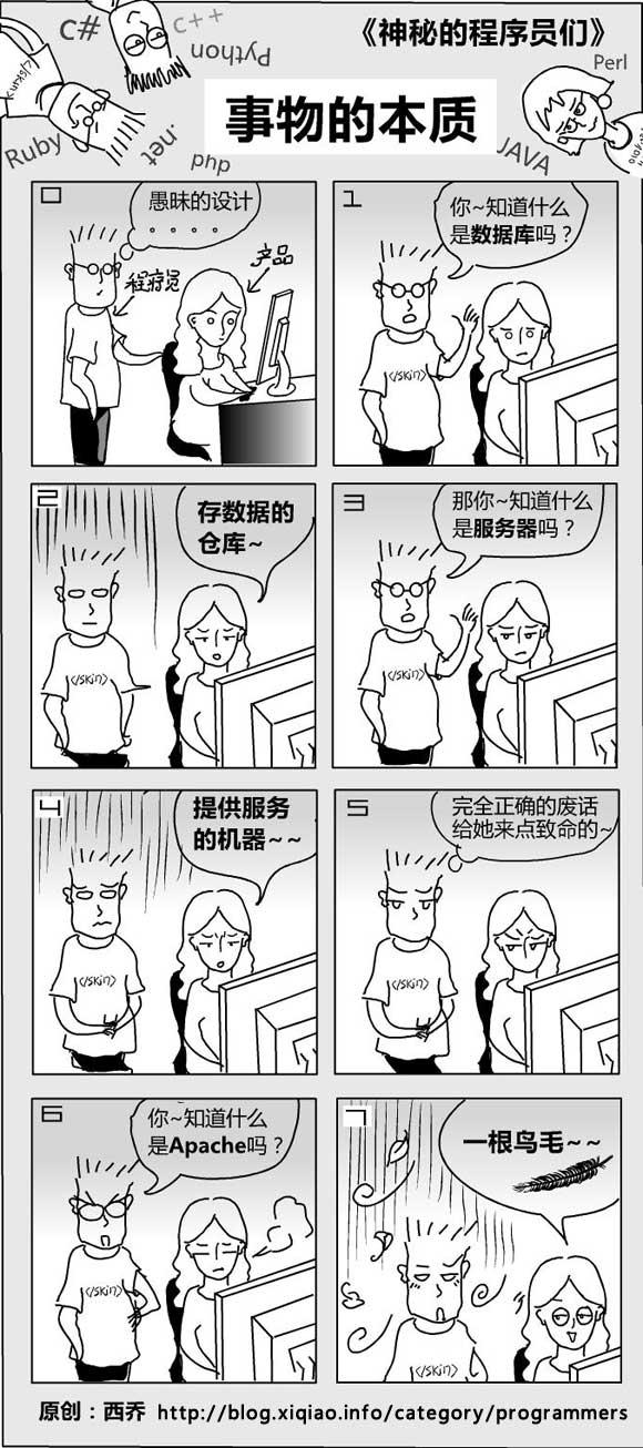 神秘的程序员们